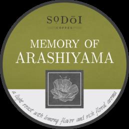 Memory of Arashiyama - Sodoi Coffee