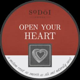 Open Your Heart - Sodoi Coffee
